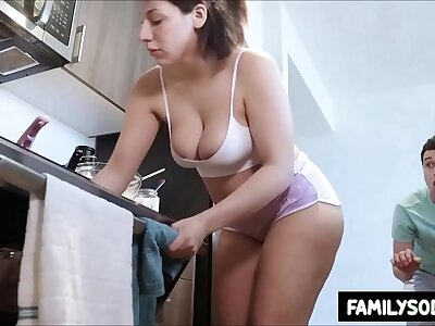Chunky rear end sister pranked purchase sucking cock
