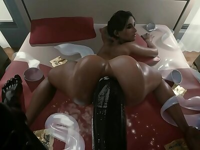 ashley fucked by a carnal horseshit
