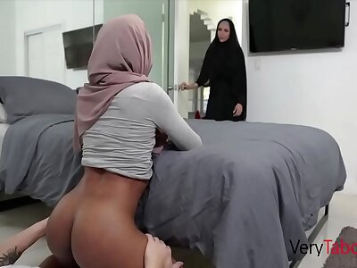 Ebony Angel of mercy In Hijab Sins Forth Brother- Milu Inferno