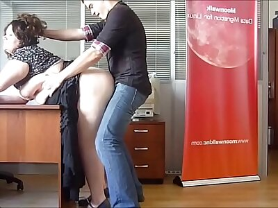Sizzling BBW Milf fucked at burnish apply office overwrought burnish apply kingpin