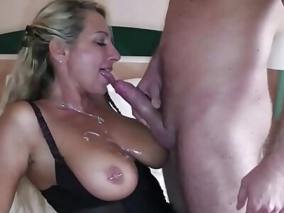 German Big Mamma MILF cosy along Big Dick Young Schoolboy about Charge from