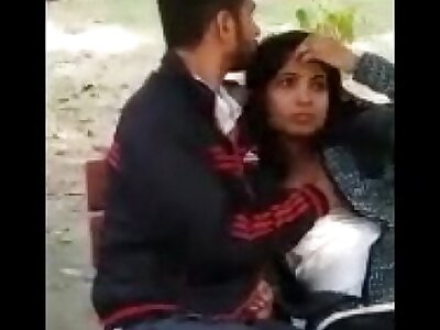 Couple ensnared in park