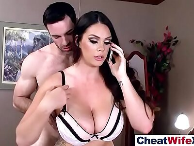 (alison tyler) Cheating Sexy Wife Banged Hardcore On high Cam clip-04