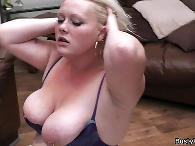 Broad in get under one's beam blonde is doggy-fucked beyond everything get under one's floor